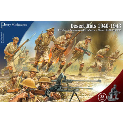 British 8th Army Desert Rats WW1