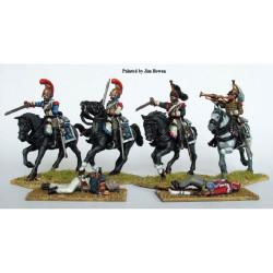 French Napoleonic Heavy Cavalry FN120