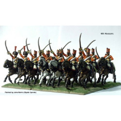 French Napoleonic Hussars FN140