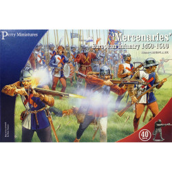 Mercenaries' European Infantry 1450-1500 WR20