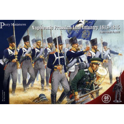 Napoleonic Prussian Line Infantry 1813-1815 PN1