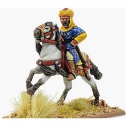 Saracen Mounted Warlord (unarmoured) SSN01a