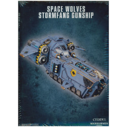 Space Wolves Stormfang Gunship/Stormwolf Assault Craft
