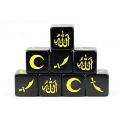 Saga Islamic Muslim Faction Dice SD07