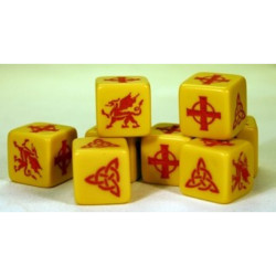 Saga Welsh / Strathclyde Welsh Dice SGD-WEL SD04