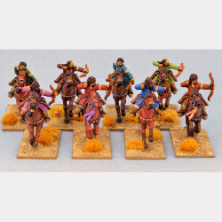 Saracen Mounted Warriors with Bows SSN06