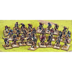 Steppe Tribes Nomads Warband (4 points) SSB17