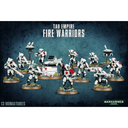 Tau Empire Fire Warriors / Breacher Team