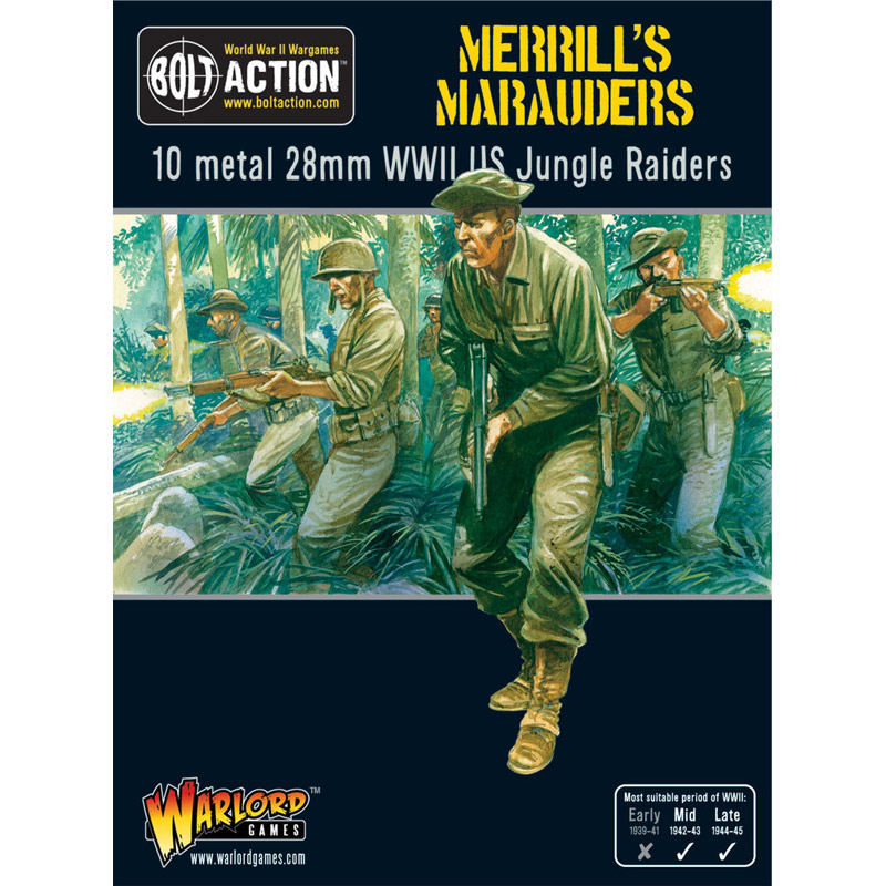 Image result for warlord games merrill's marauders