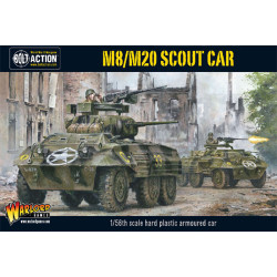 M8/M20 Greyhound Scout Car (Plastic)
