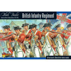 British Infantry Regiment (Plastic)