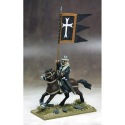 Military Order War Banner & Bearer (Hospitaller) – SWBB06H
