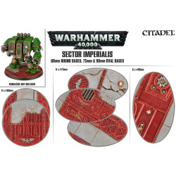 Sector Imperialis 60mm Round, 75 and 90mm Oval Bases