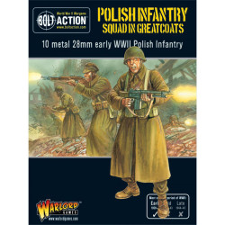 Polish Infantry Squad In Greatcoats (10 man)