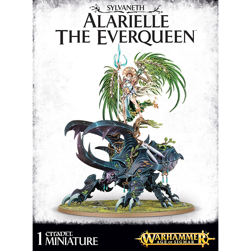 Sylvaneth Alarielle The Everqueen - Triple Helix Wargames