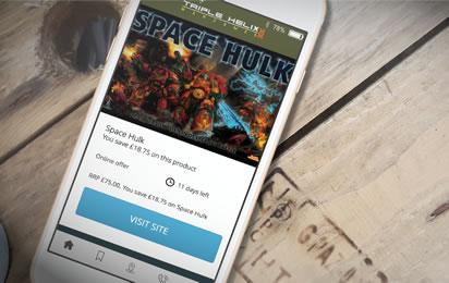 Triple Helix Wargames Mobile App