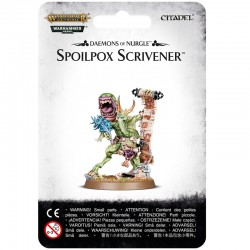 Daemons Of Nurgle Spoilpox Scrivener