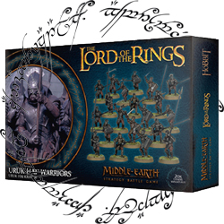 The Lord of Rings Orcs