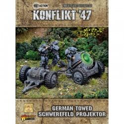 German Towed Schwerefeld Projektor