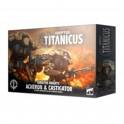 Adeptus Titanicus Cerastus Knights Acheron & Castigator