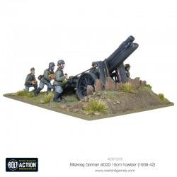 Blitzkrieg GermansIG33 15cm Howitzer (1939-42)