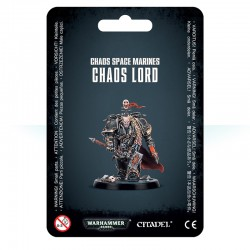 Chaos Space Marines Chaos Lord (B/S/F)