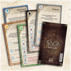Saga Age of Magic – Spell Cards
