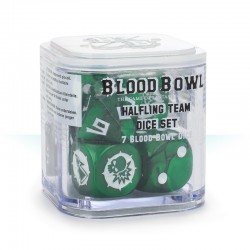 Blood Bowl Halfling Dice Set