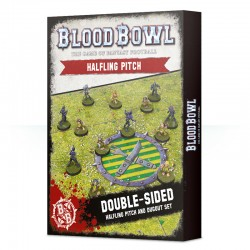 Blood Bowl Halfling Team Pitch & Dugouts