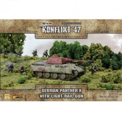Panther-X with Light Rail Gun