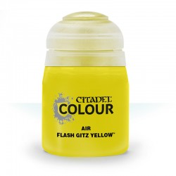 Air Flash Gitz Yellow 24ml Pot