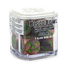 Blood Bowl Wood Elf Team Dice Set