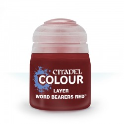 Citadel Layer Word Bearers Red