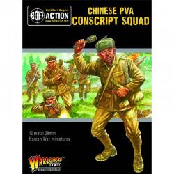 Korean War Chinese PVA Conscript Squad