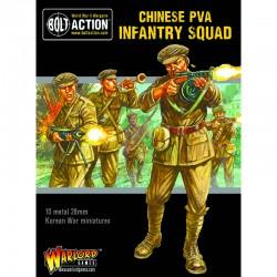 Korean War Chinese PVA Infantry Squad