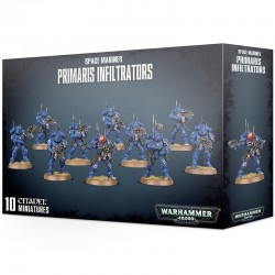 Space Marines Primaris Infiltrators – Ready To Ship