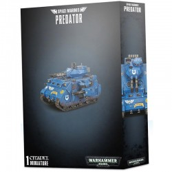 Space Marines Predator – Ready To Ship