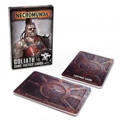 Necromunda Goliath Gang Tactics Cards