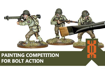 Bolt Action Painting Competition