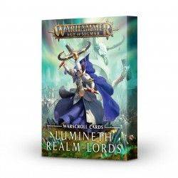WARSCROLL CARDS: LUMINETH REALM-LORDS (ENG)