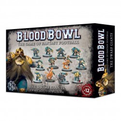 Blood Bowl Dwarf Team The Dwarf Giants