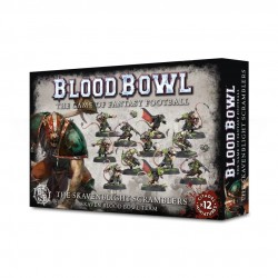 Blood Bowl Skaven Team The Skavenblight Scramblers