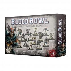 Blood Bowl Champions of Death Team Shambling Undead
