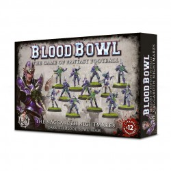 Blood Bowl Dark Elf Team The Naggaroth Nightmares