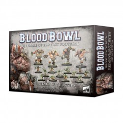 Blood Bowl Ogre Team The Fire Mountain Gut Busters