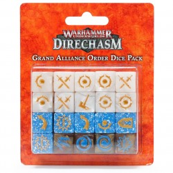 Warhammer Underworlds Grand Alliance Order Dice Pack