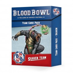 Blood Bowl Skaven Team Card Pack