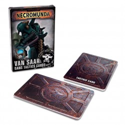 Necromunda Van Saar Gang Tactics Cards (Second Edition)