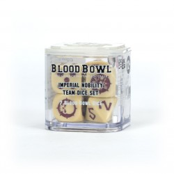 Blood Bowl Imperial Nobility Team Dice Set