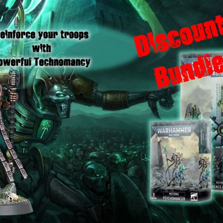 Necron banner with seal